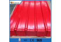 Cheap DX51D Color Coated Zinc Steel Corrugated Roofing Sheet