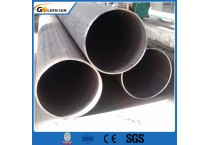 ERW /Straight Welded Seam Carbon Steel Black Round Welded Pipes