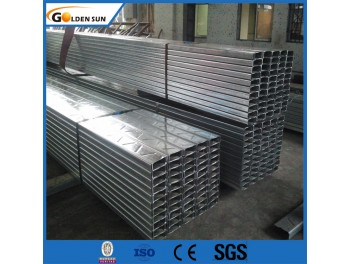 Fábrica Direct Supply Slotted Galvanized Steel Unistrut HDG C Channel