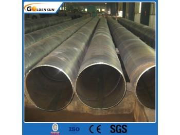 GB Q195 Q235 Q345 espiral SSAW tubos soldados de aço para a fabricação de óleo e gás