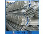 GI Pipe y Big Diámetro 2 1387 pulgadas BS Galvanizado Tubo de acero redondo