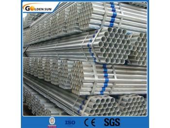 GI Pipe & Big Diâmetro 2 Inch BS 1387 galvanizado Rodada Steel Pipe