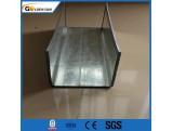 Construction acier laminé à chaud à faible teneur en carbone canal en acier capacité en acier structurel canal