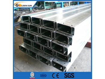 hot dip Galvanized C Steel Profile c channel for construction project industry