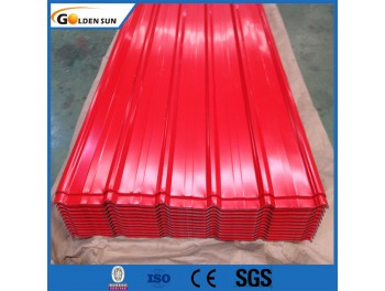 Pre-painted corrugate steel sheet for roofing sheet