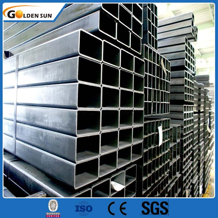 China Wholesale Market Welded Square Tube Black Building Square Pipe