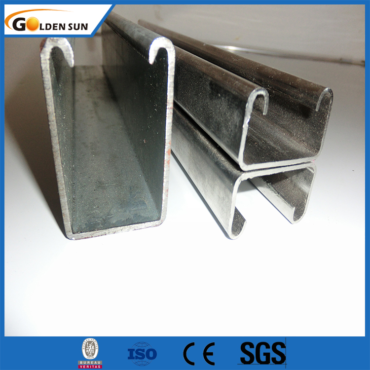 Cold Formed Steel Profile C Channel galvanized steel profile/steel profile